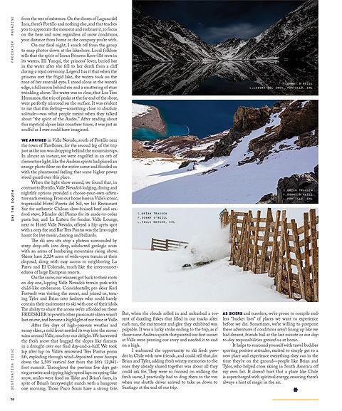 Ski The South - Destination Issue