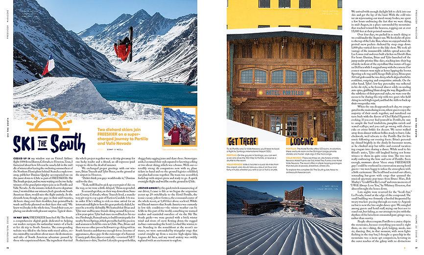 Ski The South - Destination Isse