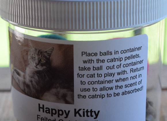 Happy Kitty Catnip Balls