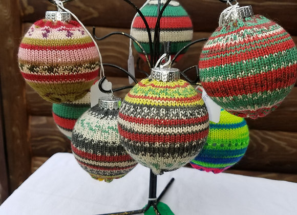 Sock Ball Ornaments