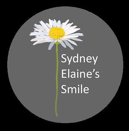 rough draft of sydney elaines smile logo