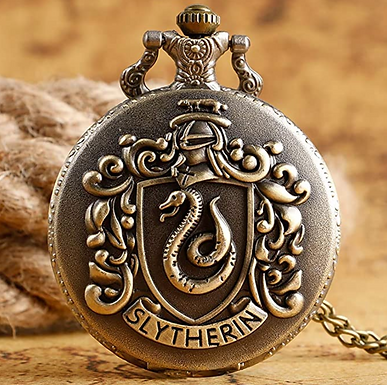 Relógio Slytherin - Coleção Harry Potter