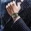 Thumbnail: Relógio Cronógrafo Designer Gold Edition