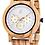 Thumbnail: Relógio de madeira pura