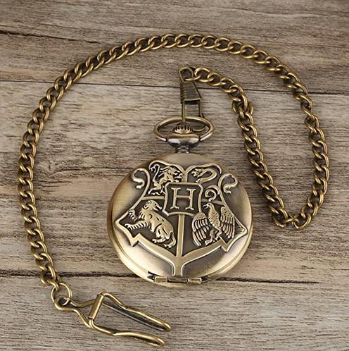 Relógio Hogwarts - Coleção Harry Potter
