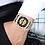 Thumbnail: Relógio de pulso de aço inoxidável Gold and Black