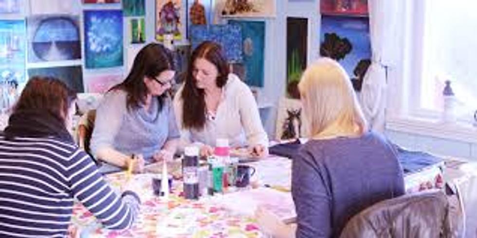 Kreativt verksted - Mandager kl.13-16