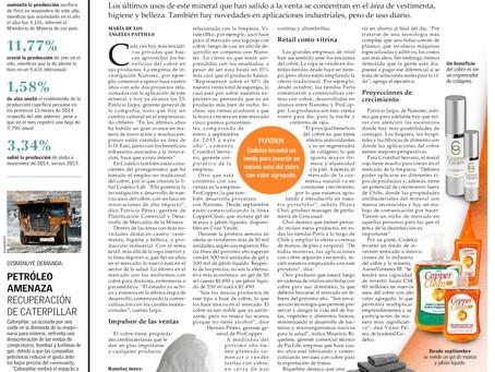 El Mercurio | Productos con cobre ganan presencia en el mercado del consumo masivo