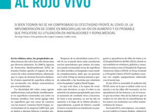 Revista En Concreto N°200 | Cobre Antimicrobiano: Protección al Rojo Vivo