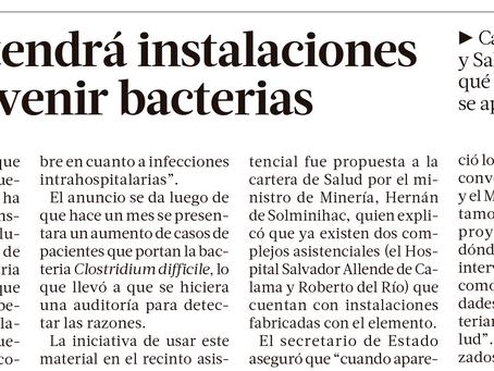 La Tercera | Ex Posta Central tendrá instalaciones de cobre para prevenir bacterias