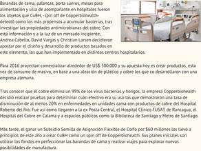 Diario Financiero | Productos chilenos de cobre para el área salud llegarán a Alemania