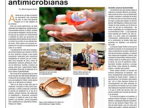 La Segunda | De ambulancias a calcetines aprovechan las propiedades antimicrobianas