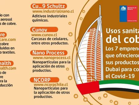 ProChile | Emprendedores de nanopartículas del cobre ofrecieron sus productos a Dubai para combatir