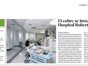 La Tercera | El cobre se instala en el Hospital Roberto del Río