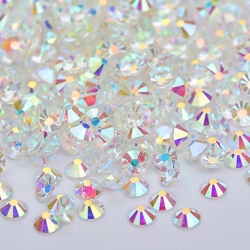 SS20 Clear Crystal AB  Diamantes Crystal Non Hotfix Flat back