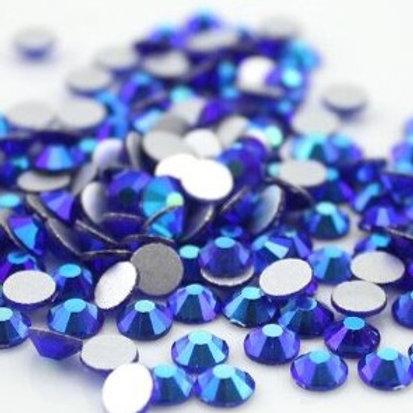 SS20 Sapphire AB Diamantes Crystal Non Hotfix Flat back