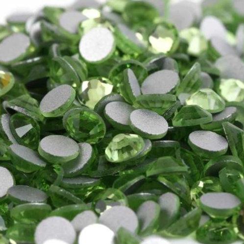 Peridot Diamantes Crystal Non Hotfix Flatback
