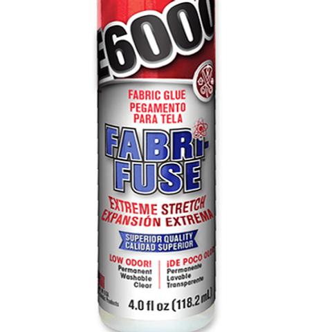 E6000 Fabri-Fuse Adhesive Glue 4oz (118.2ml)