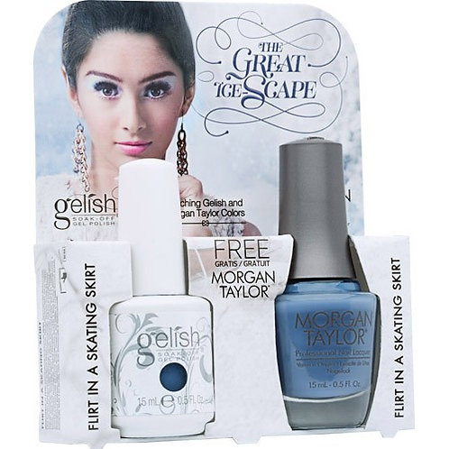 Gelish Flirt in a skating
