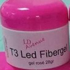 Gel T3  LED  fibergel 28g