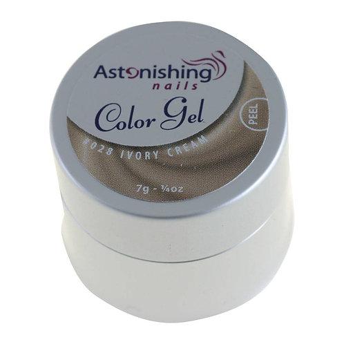 Gel couleur Ivory cream    Liquidation