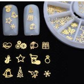 Sticker métal 3D