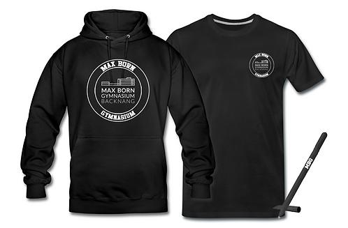 "Hoodie + T-Shirt ""MBG"" im Unisexschnitt"