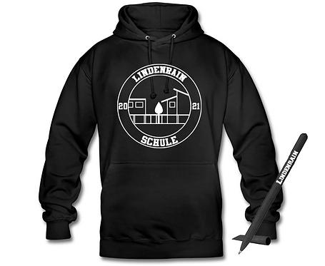 Hoodie im Unisex-Schnitt mit Kugelschreiber