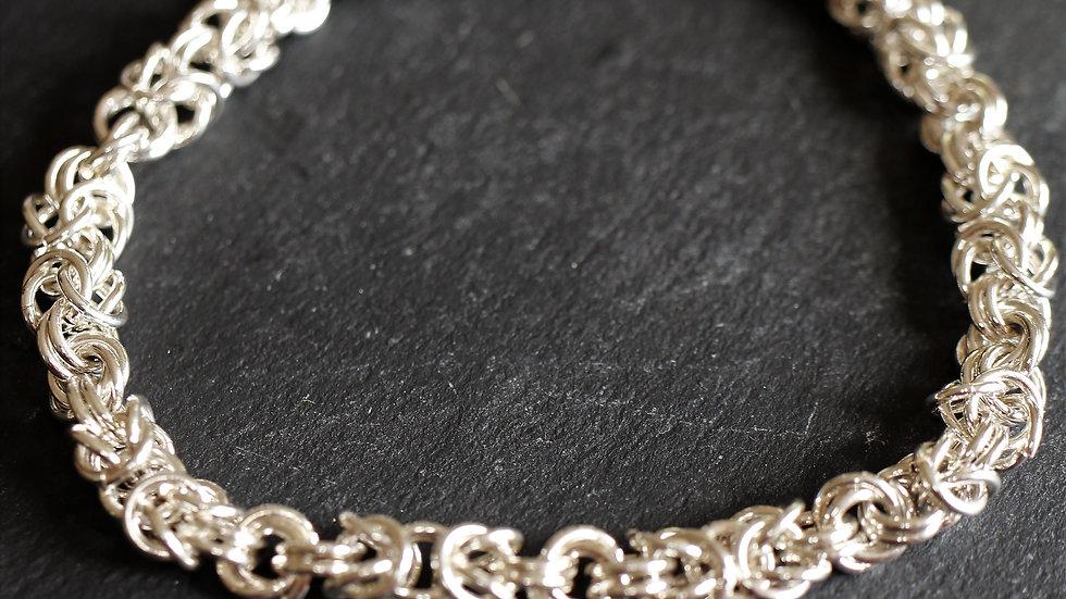 Byzantine and Rose Bracelet
