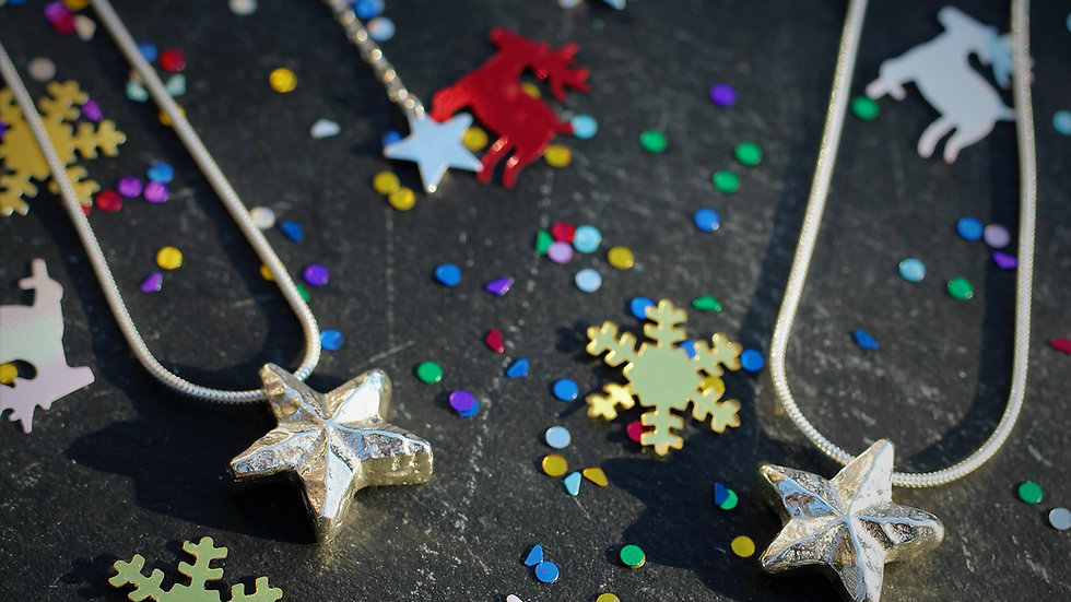 "Wishing Star Necklace (20"" Chain)"
