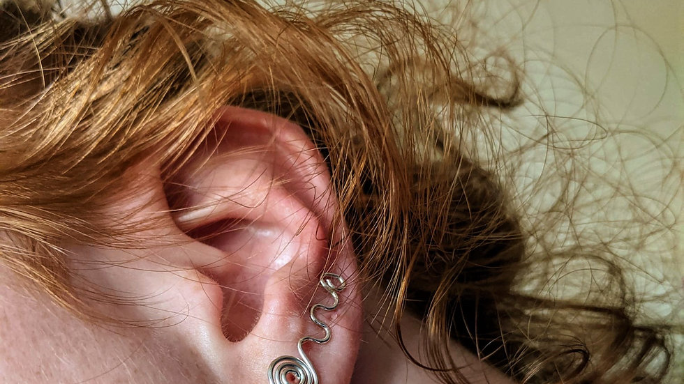 Sterling Silver Ear Climbers