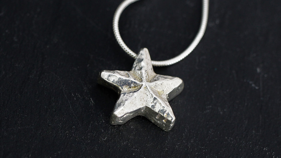 """Wishing Star Necklace (16"""" Chain)"""