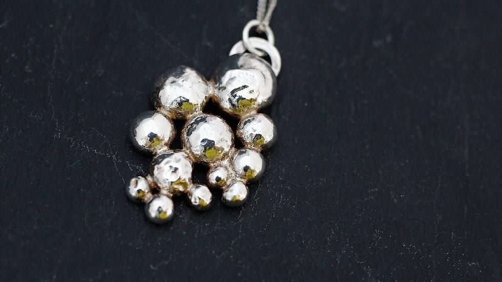 Bubble Pendant and Earring Set 2