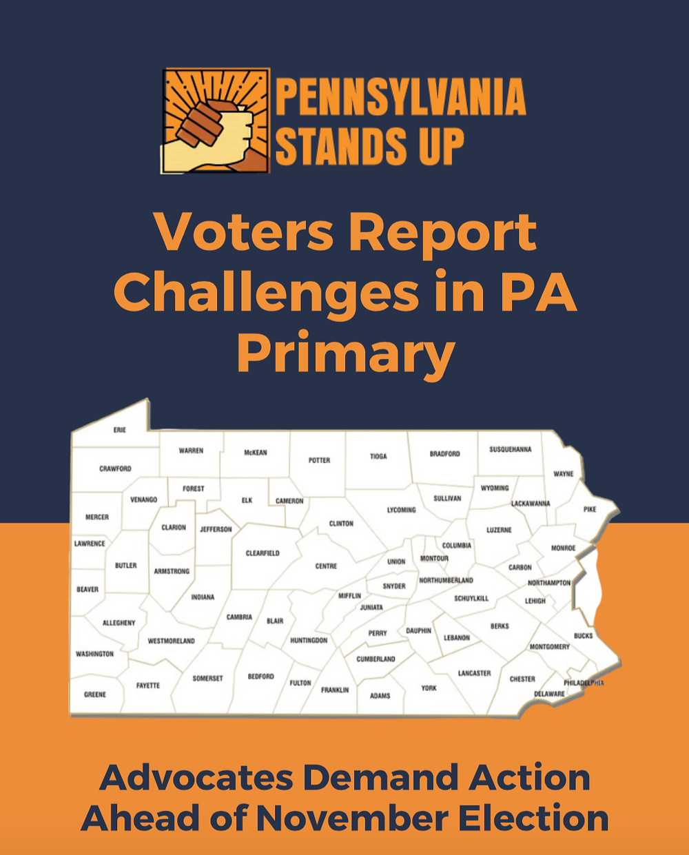 PA Stands Up Vote-by-mail Report