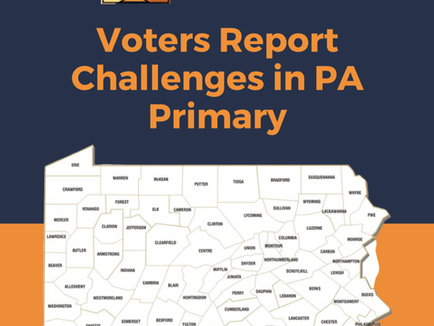 PA Stands Up Report Exposes Vote-by-mail Needs