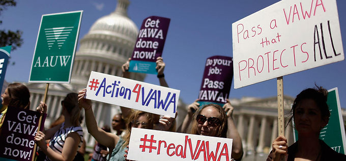 Perry Opposes Violence Against Women Act