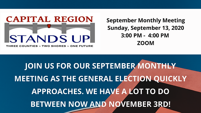 Meeting | 9.13.20 CRSU September Monthly Meeting