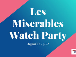 Movie Night | 8.22.20 Les Miserables Watch Party