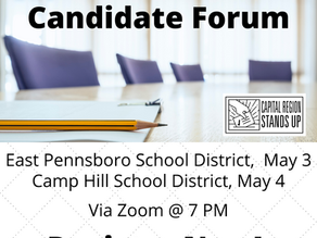 School Board Candidate Forums