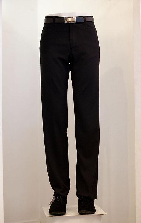 Black Flat Front Trouser