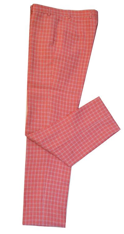 Italian Linen Flat Front Trousers