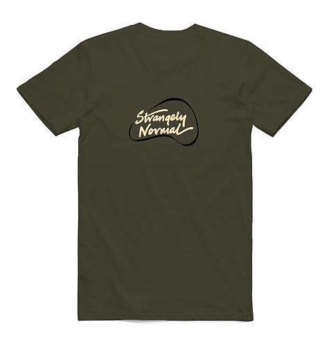 Strangely Normal Logo T-Shirt Forest Green