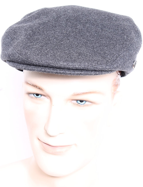 Cheesecutter Charcoal Melton Cap