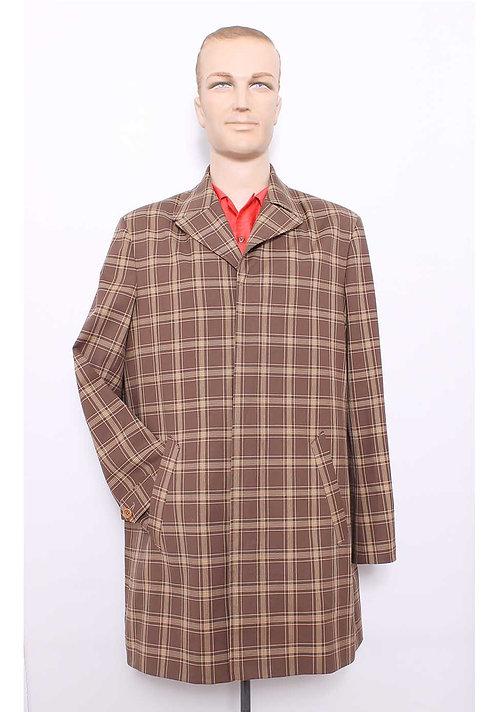 Mcqueen Coat , Brown Check