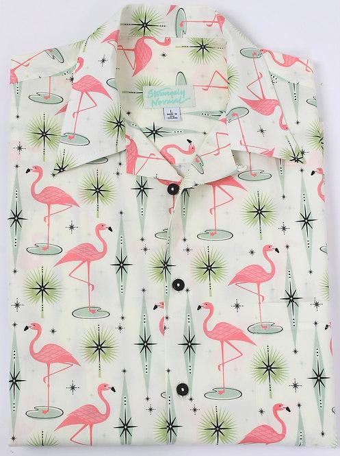 Mid Century Flamingo