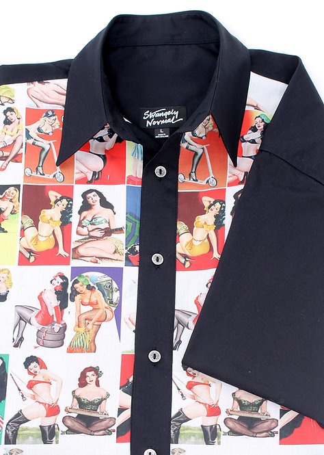 '50s GALS Panel Shirt