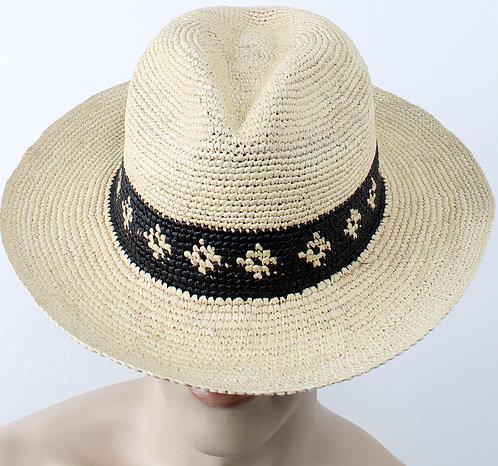 Panama Crochet Natural