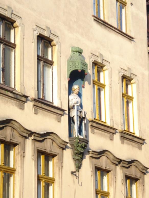 Фасад Торуньских зданий