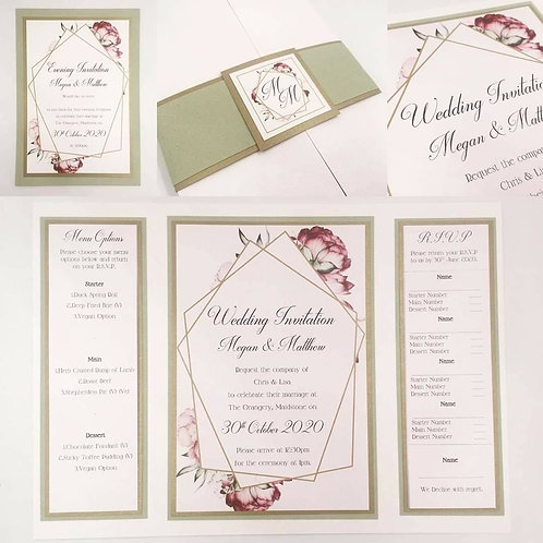 The Megan Collection invite