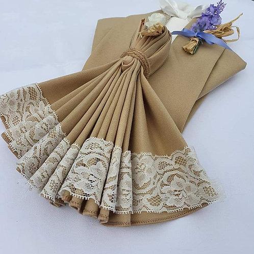 Folded Napkins Tuxedoes & dresses